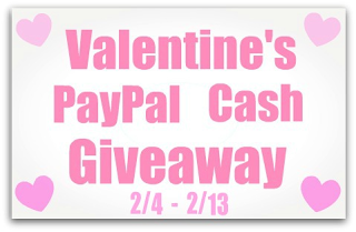 Valetine's Paypal Cash Giveaway