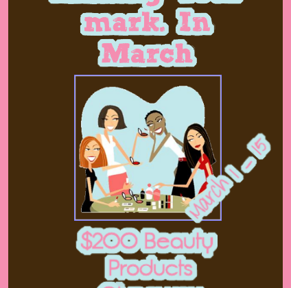 Making Your mark. In March Giveaway