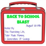 Blogger Sign Ups : Back to School Blast Giveaway Hop
