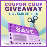 Blogger Sign Up : Coupon Coup Giveaway