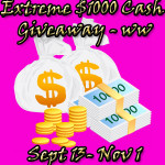 Enter : Extreme $1000 Cash Giveaway-Open WW
