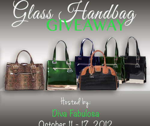 Enter : Glass Handbag Giveaway