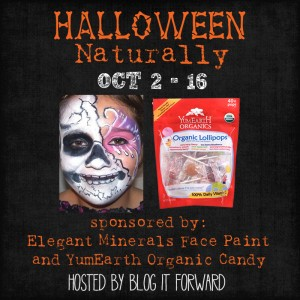 Enter : Halloween Naturally Giveaway