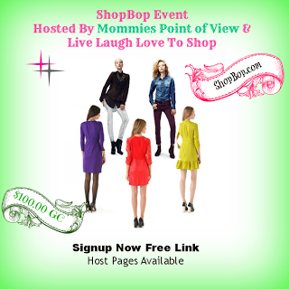 Blogger Sign Up : ShopBop Event