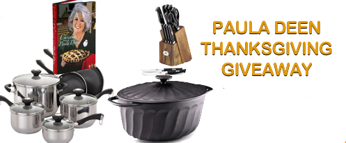 Enter : Paula Deen Kitchen Set Giveaway