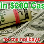 Enter : $200 Cash Giveaway