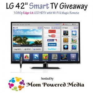 "Enter : LG 42"" Smart TV Giveaway"