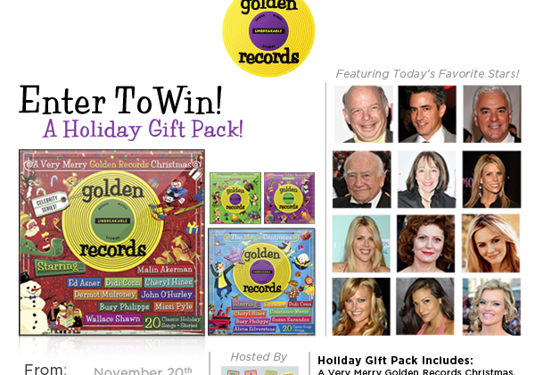 Enter : A Very Merry Golden Records Christmas CD Giveaway