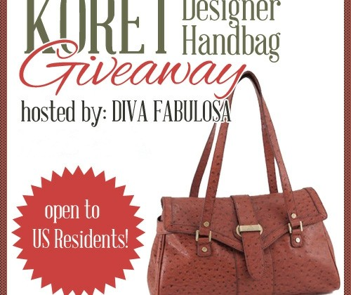 Enter : Koret Designer Handbag Giveaway