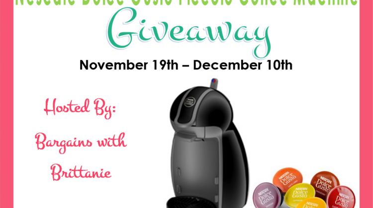 Blogger Sign Up : Nescafé Dolce Gusto Piccolo Coffee Machine Giveaway Event