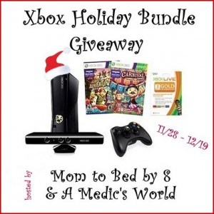 Blogger Sign Up : Xbox Holiday Bundle Giveaway