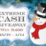 Enter : Extreme Cash Giveaway~Win $400 Open WW