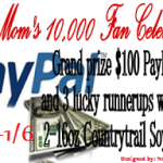 Enter : $100 Paypal Cash and Countrytrail Soy Candles Giveaway