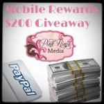 Enter : $200 Mobile Rewards Giveaway-Open WW