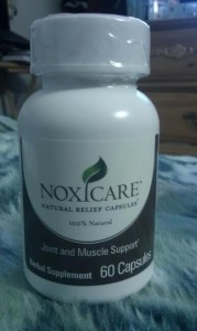 Review : Noxicare Natural Pain Relief Capsules