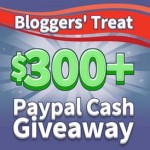 Enter : $300+ Paypal Cash Giveaway