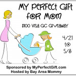 Enter : My Perfect Gift $100 Visa GC Giveaway