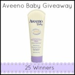 Enter : Aveeno Baby Giveaway (25 Winners)