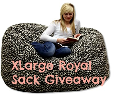 Enter : XLarge Royal Sack Bean Bag Giveaway
