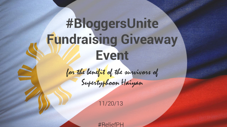 Fund Raising Giveaway Event #BloggersUnite
