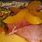 Butt Portion Ham in Peach Glaze from Lucky Supermarket #FreshFinds