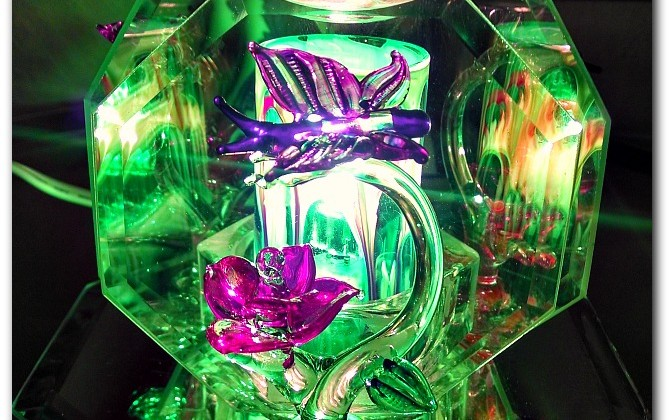 Crystal Butterfly Scented Oil Warmer by Aroma Delights #Review