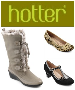 Enter : Hotter USA Shoes Giveaway