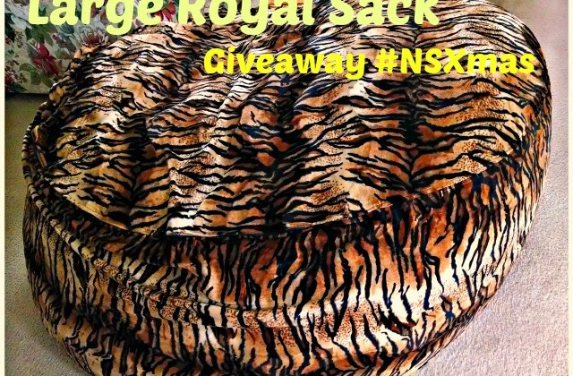 Large Royal Sack Giveaway & Nature's Sleep Holiday Event #NSXmas