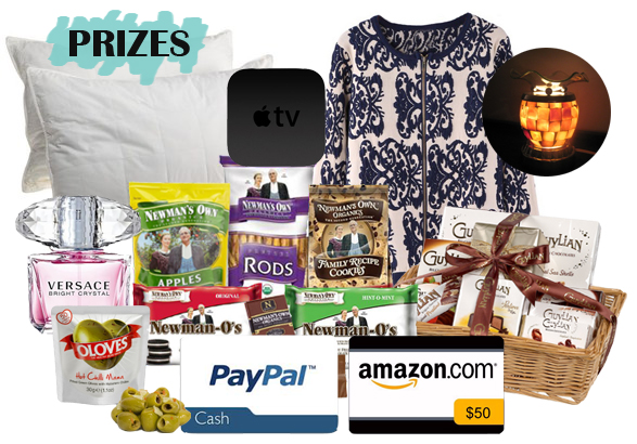 bloggers united prizes