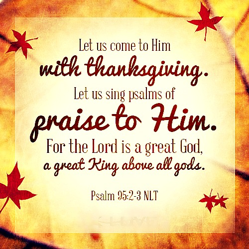 Best Thanksgiving Quotes From Bible: Happy Thanksgiving
