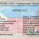 UPDATE! Bloggers Unite: A Fundraising Giveaway Event