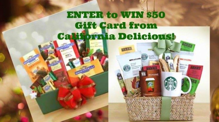 Enter : California Delicious Giveaway