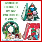 Enter : Giant Microbes Christmas Box Giveaway (2 Winners)