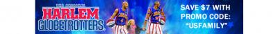 Save $7 Off Tickets to the Harlem Globetrotters 2014 Tour!