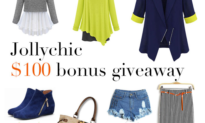 Enter : $100 JollyChic Giveaway