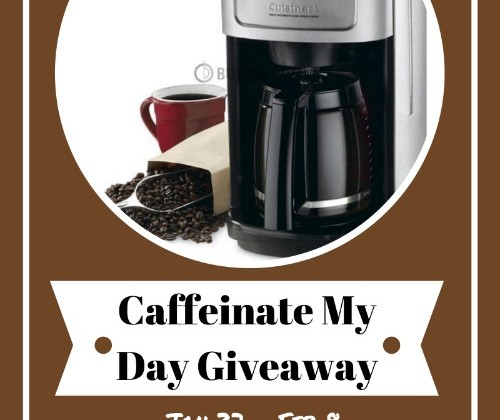 Enter :  Caffeinate My Day Giveaway