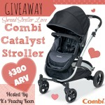 Enter : Combi Catalyst Stroller Giveaway
