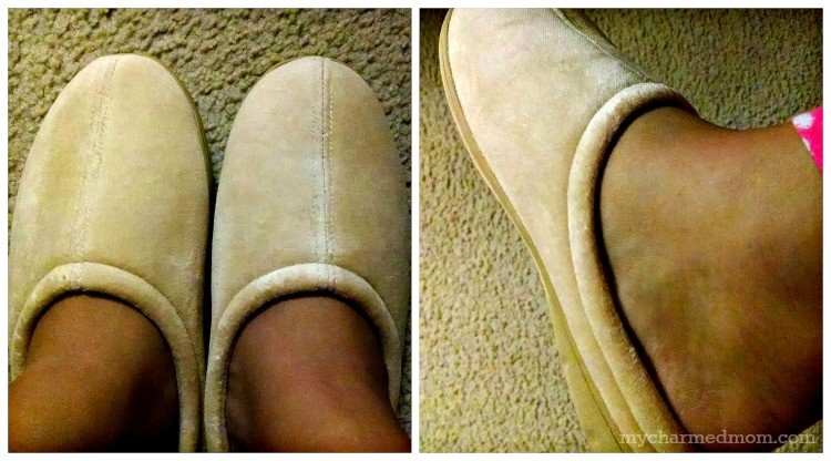 Nature's Sleep Closed Toe Memory Foam Slippers Review