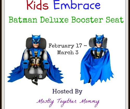 Enter : Batman Car Seat Giveaway
