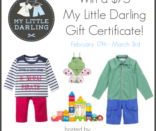 Enter : My Little Darling Giveaway
