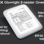 Enter : Nook Glow Light Giveaway