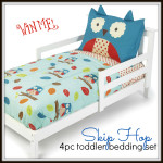 Enter :  Skip Hop Owl Toddler Bedding Set Giveaway