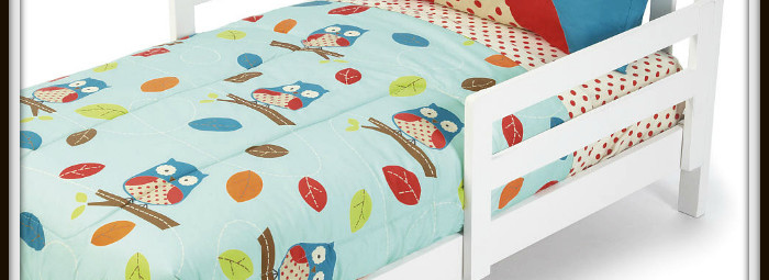 Owl Toddler Bedding Giveaway