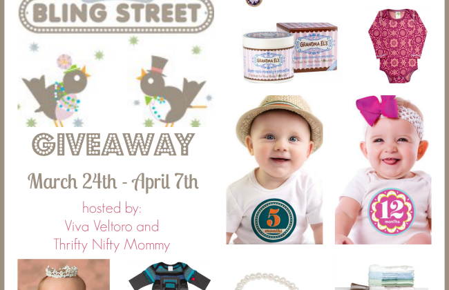 Enter : Baby Bling Street Giveaway