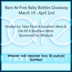 Enter : Bare Air-Free Baby Bottles Giveaway