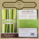 Enter : Cariloha Bamboo Sheet Set Giveaway