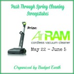Enter : Gtech AirRam Vacuum ($350 value) Giveaway