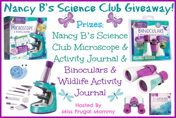 Enter : Nancy B's Science Club Giveaway