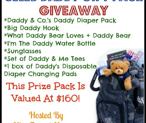 Enter : The Celeb Daddy Gift Pack Giveaway
