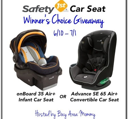 Enter : Safety 1st Car Seat Giveaway